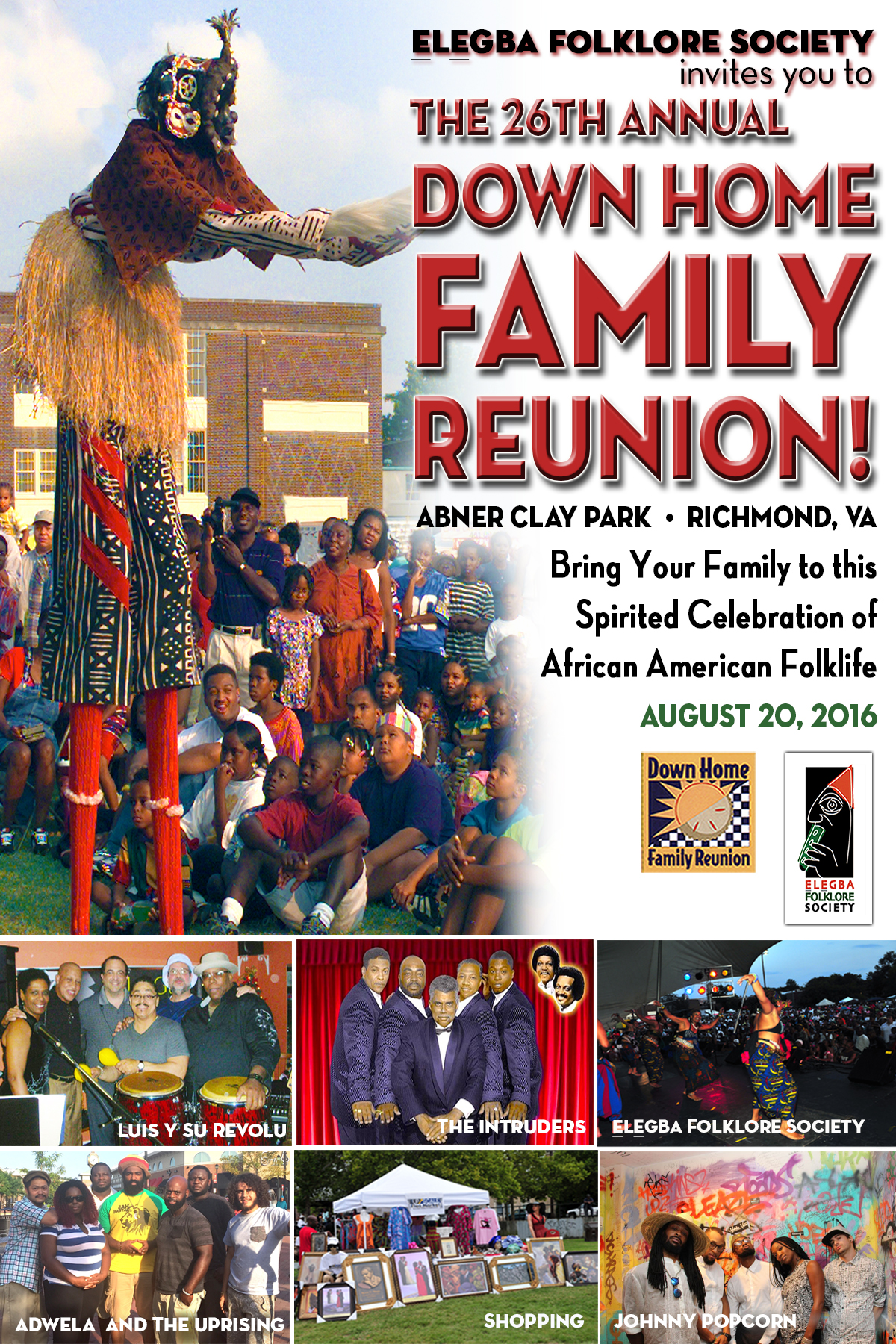 Down home family reunion a celebration of african american folklife is